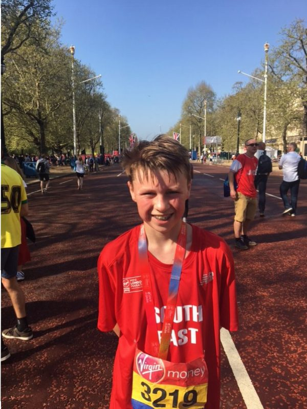 London Marathon and Mini Marathon