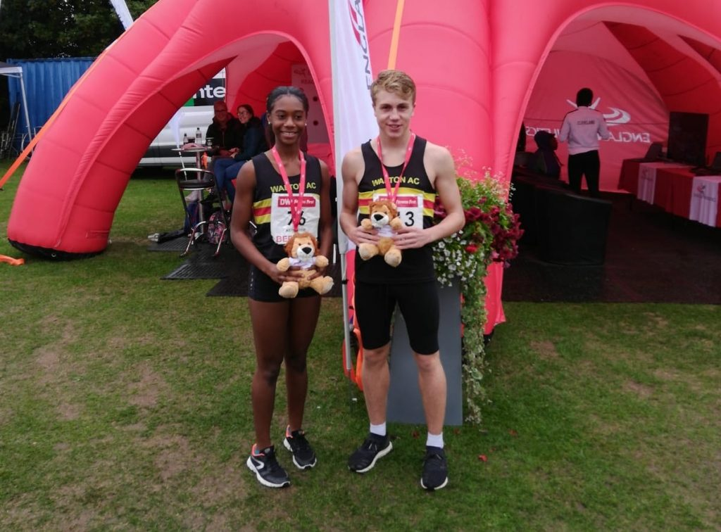 Double Gold for Walton Youngsters at England Championships