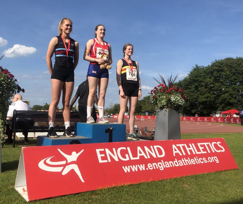 National Championship Bronze for Nicola