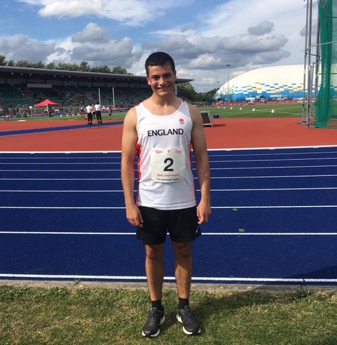 Sam Mace Selected for International Throws