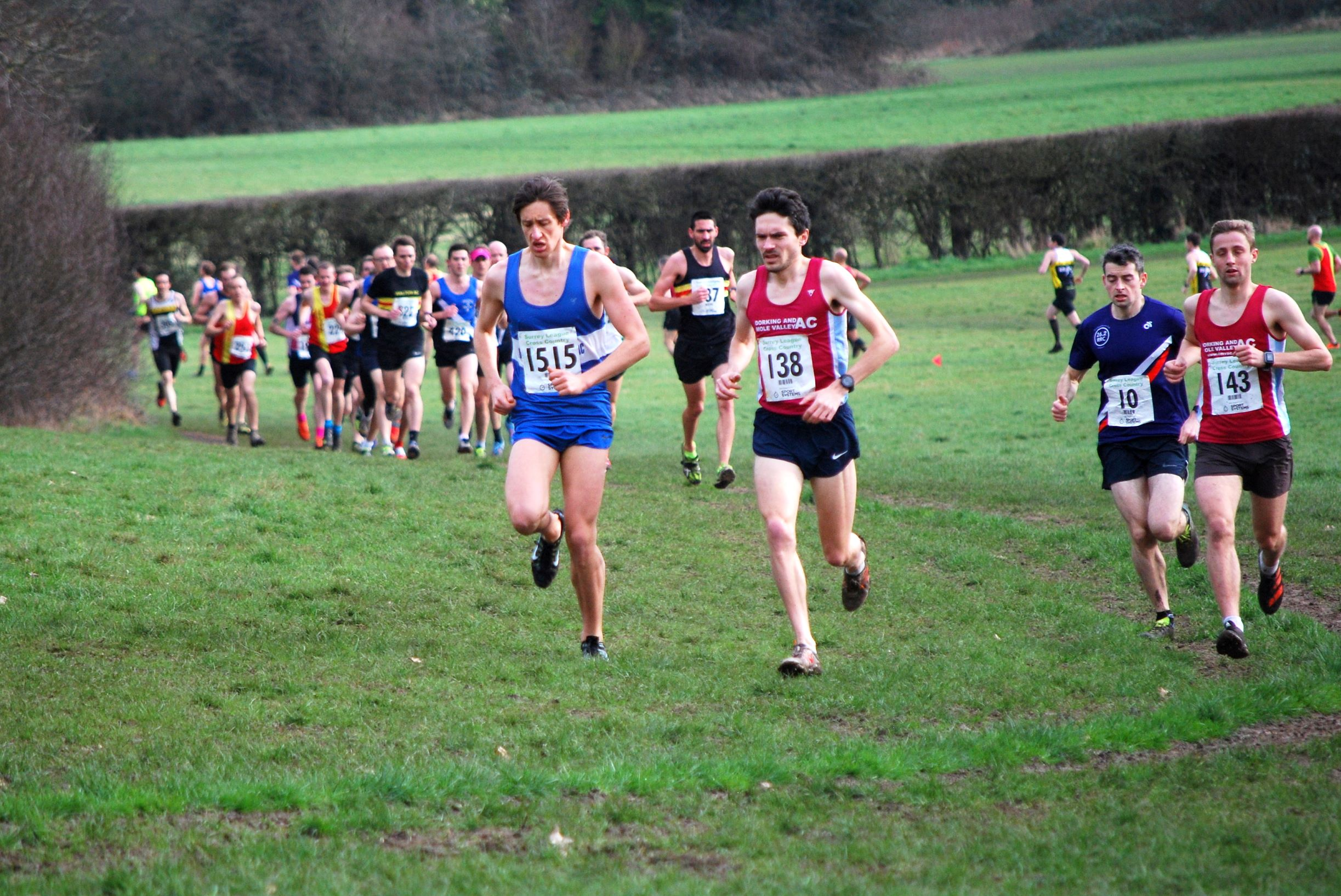 Surrey Cross Country League Men's Division 3