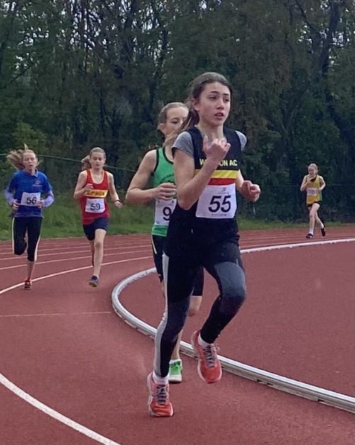 Young Athletes Club Open Meeting & Invitation U15 800m